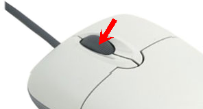 how to change desktop icon size without mouse
