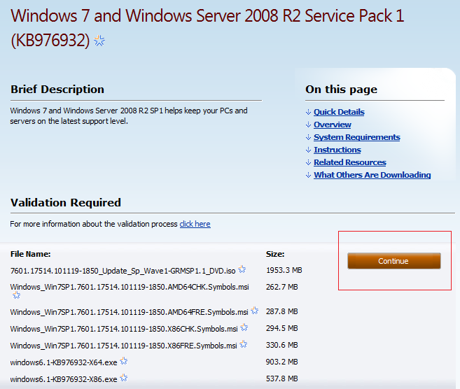 Downloading and installing windows 7 service pack one - Factors to consider when installing windows ...