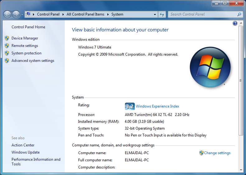 windows 7 ultimate 64 service pack